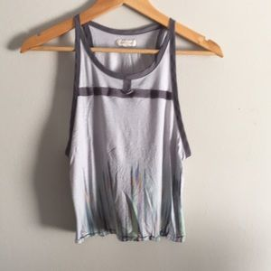 Silence + Noise Urban Outfitters Gray Watercolor